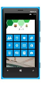 Livescores App for Windows Mobile